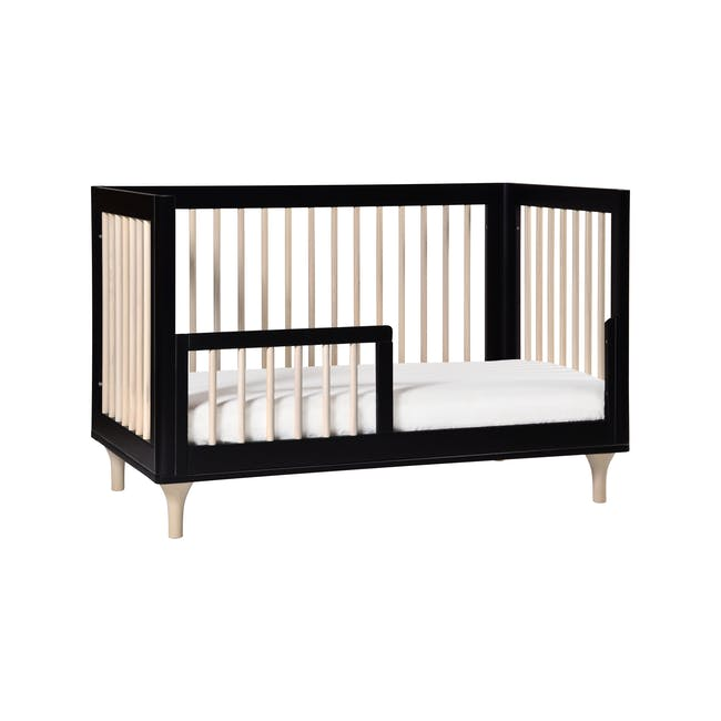 Babyletto Lolly 3-in-1 Convertible Crib - Black & Washed - 4