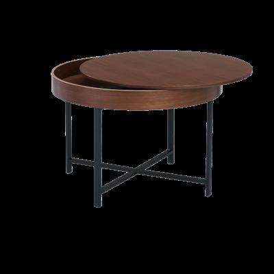 Yuri Storage Coffee Table - Walnut - Image 2