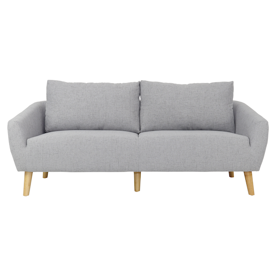 Sectional Couch Light Gray: Apartment Sofas By HipVan Hana 3 Seater Sofa
