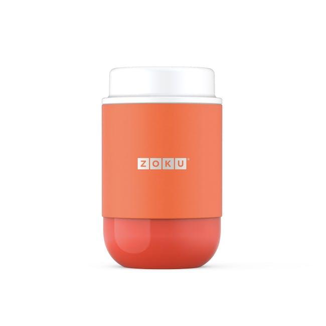 Zoku Neat Stack Food Jar 16oz - Orange - 0