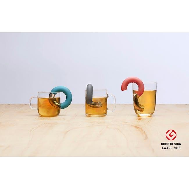 OMMO Torus Tea Infuser - Jade - 3