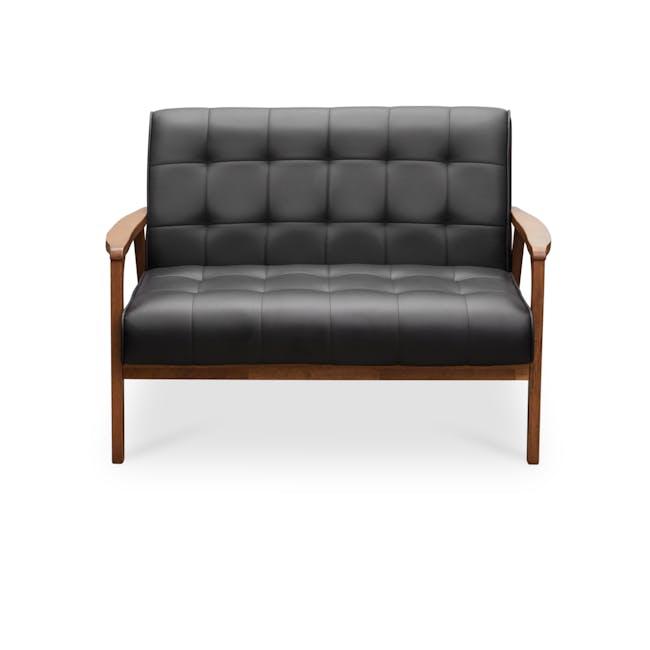 Tucson 2 Seater Sofa - Cocoa, Espresso (Faux Leather) - 0