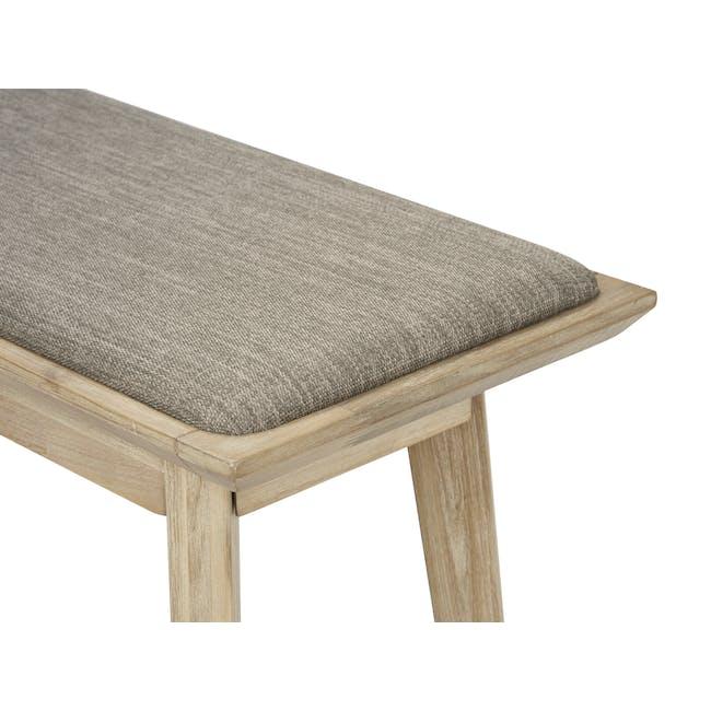 Leland Cushioned Bench 1.5m - 2