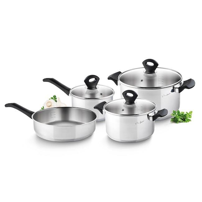 Lamart Stainless Steel Cookware 7pc Set - 1