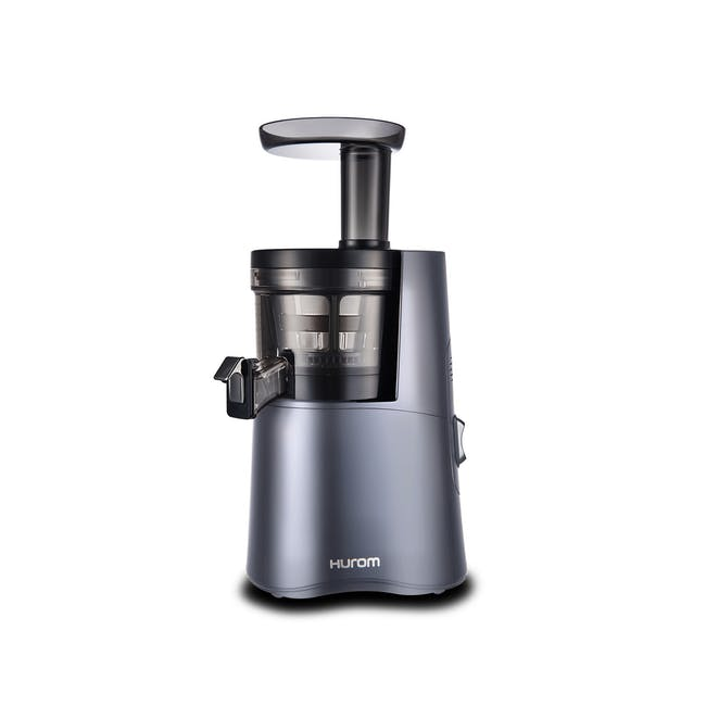 Hurom HA-2600 Cold Pressed Slow Fruit Juicer Classic Series - Midnight Blue - 0