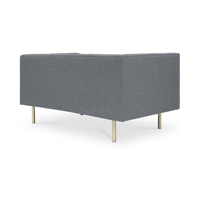 Cadencia 2 Seater Sofa - Charcoal Grey (Fabric) - 2