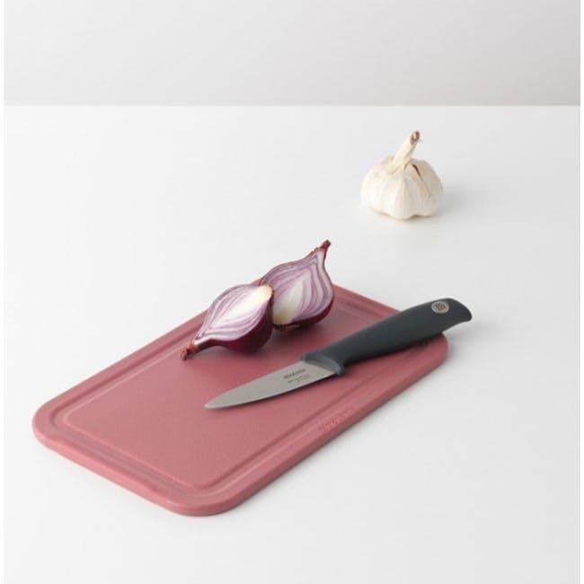 Tasty+ Small Cutting Board - Grape Red - 1