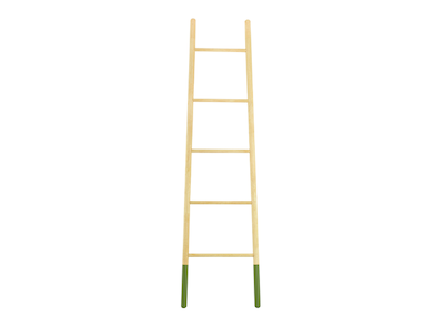 Mycroft Ladder Hanger - Oak - Image 1