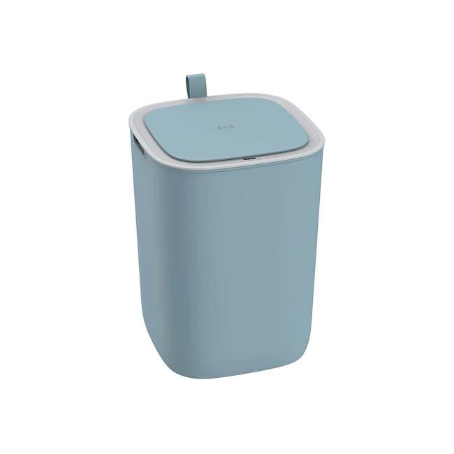 EKO Morandi Motion Sensor Bin With Soft Closing 12L - Blue - 0