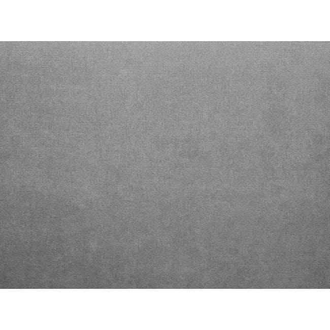 Luke 3 Seater Sofa - Gray Owl - 6