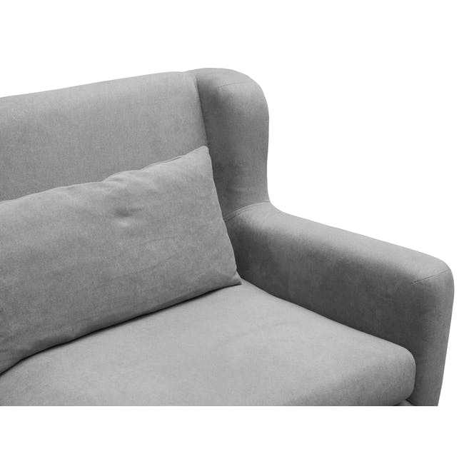 Luke 3 Seater Sofa - Gray Owl - 4