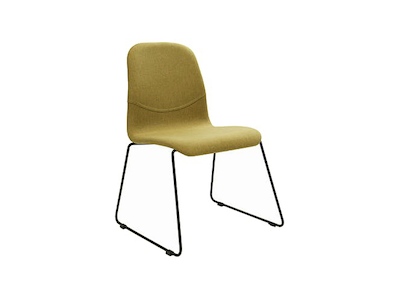 Ava Dining Chair - Matt Black, Oasis - Image 1