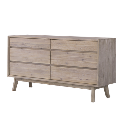 Leland 6 Drawer Chest 1.5m - Image 2