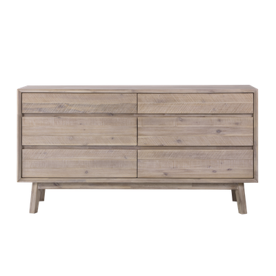 Leland 6 Drawer Chest 1.5m - Image 1