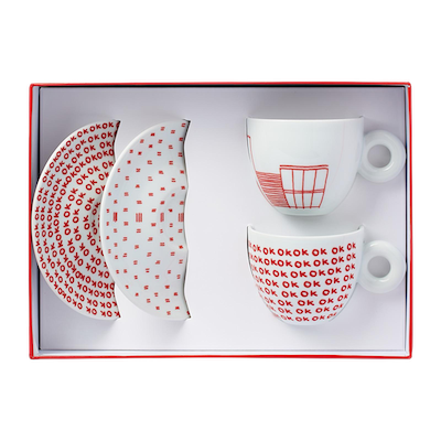 illy Art Collection - Watermill Center Cups (Set of 2) - Image 2