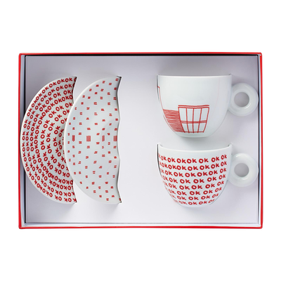 illy Art Collection - Watermill Center Cups (Set of 2)