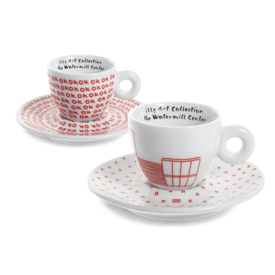 illy Art Collection - Watermill Center Cups (Set of 2) - Image 1