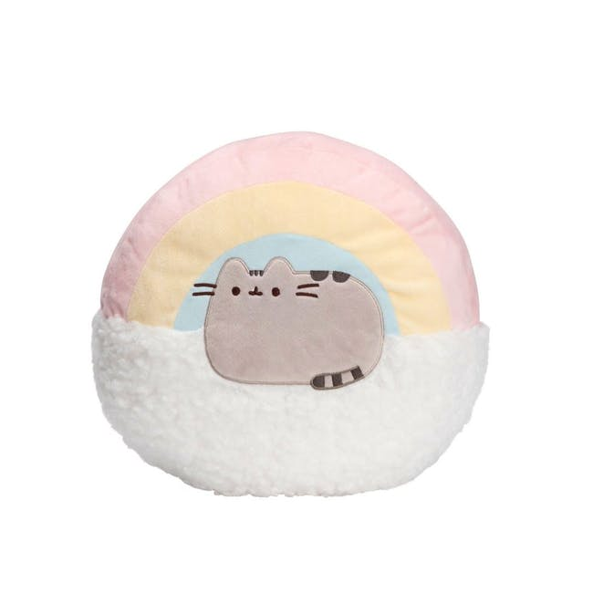 Pusheen Rainbow Pillow - 13 Inches - 0