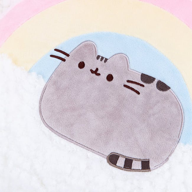 Pusheen Rainbow Pillow - 13 Inches - 2