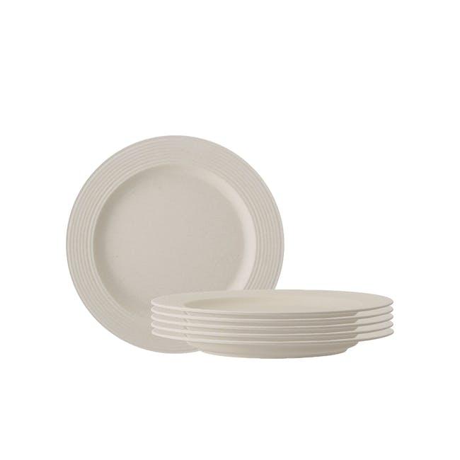 Rhea Side Plate - Ivory (Set of 6) - 0