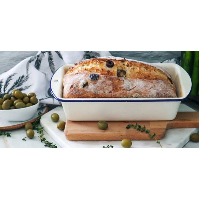 Wiltshire Enamel Loaf Pan - 1