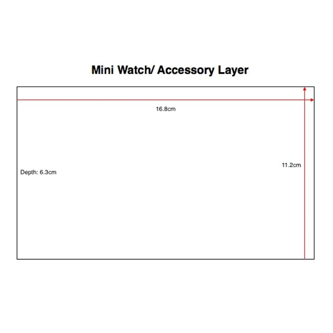 Stackers Mini Watch/ Accessory Layer - Taupe - 3