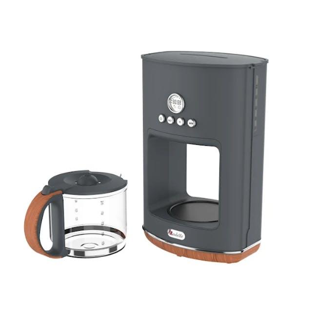 Odette Otto Series 1.5L Programmable Coffee Maker - Grey - 1