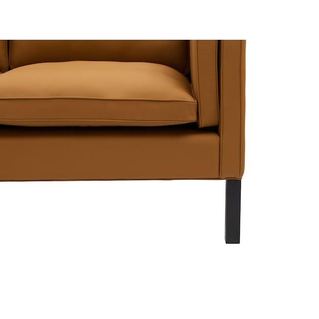 Borge Mogensen 2213 3 Seater Sofa Replica - Tan (Genuine Cowhide) - 4
