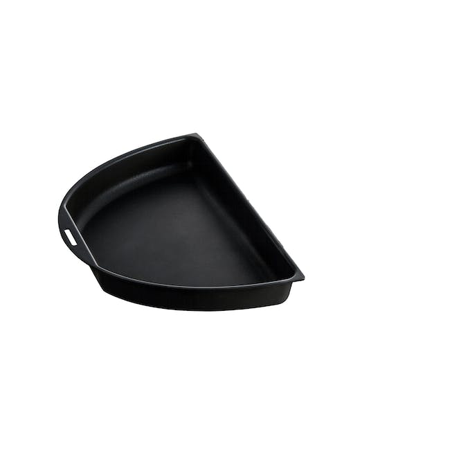 BRUNO Oval Half Grill and Flat Plates - 1