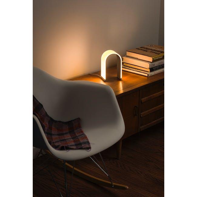 Koncept Mr n LED Lantern -Warm Silver - 1