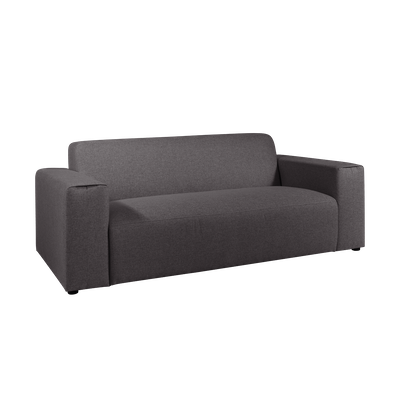 Adam 3 Seater Sofa - Granite - Image 2