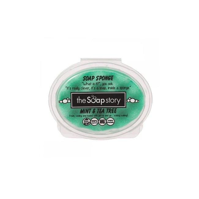 Soap Sponge 150g: Mint & Tea Tree - 0
