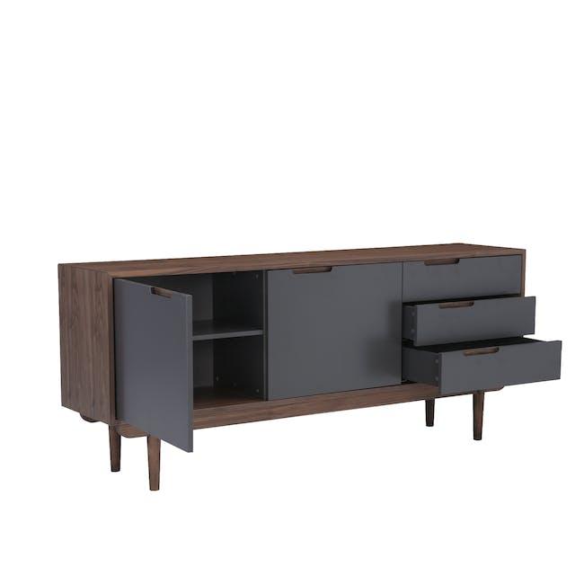 Larisa Sideboard 1.8m - Walnut, Grey - 4