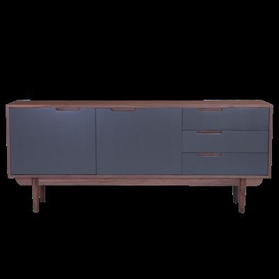 Larisa Sideboard 1.8m - Walnut, Grey - Image 2