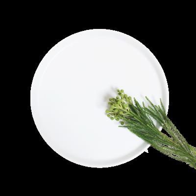 Ceramic Display Tray - White - Image 1