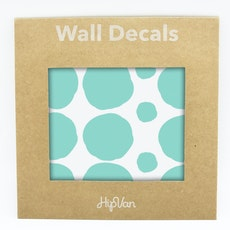 Polka Dot Wall Decal Pack (Pack of 54) - Mint