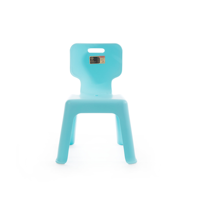 Sturdy Kids Chair with Backrest - Pastel Blue - Image 2