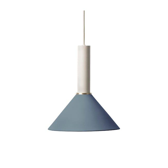 Chloe Pendant Lamp - Light Grey, Dark Blue - 0