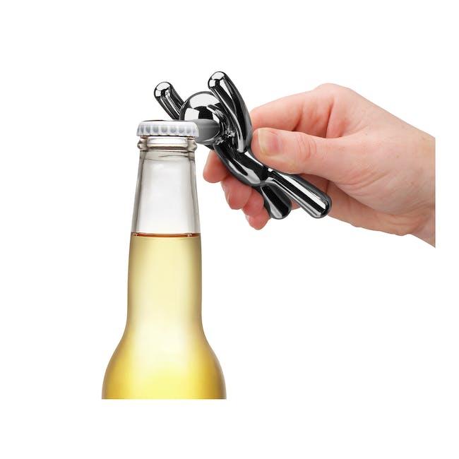 Drinking Buddy Bottle Opener - Chrome - 1