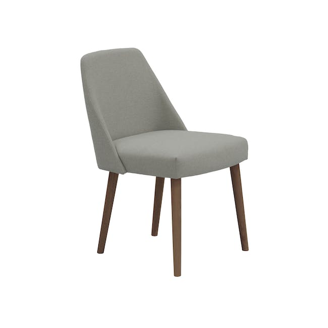 Ralph Dining Table 1.5m in Cocoa with 4 Miranda Chairs - 2