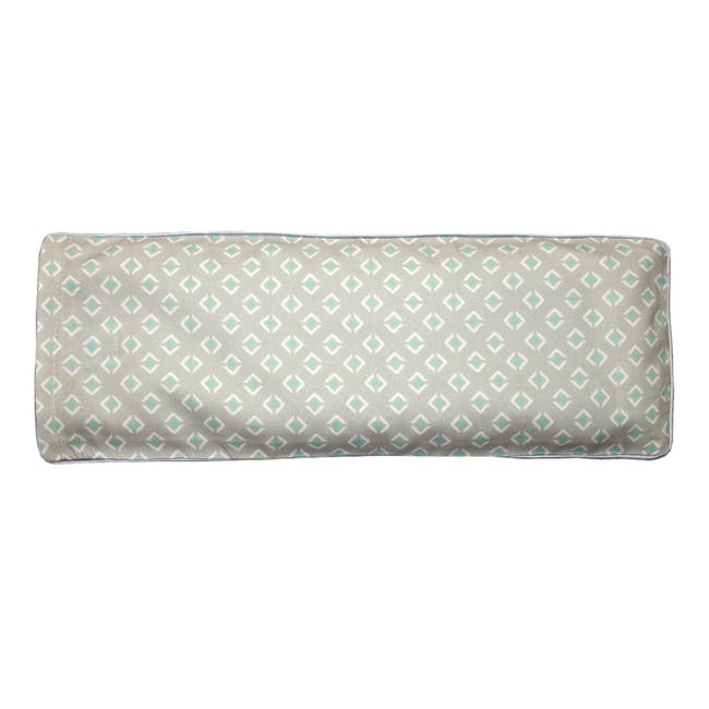Woodland Animals Snuggy Beansprout Husk Pillow - Green (Organic Cotton) - 1