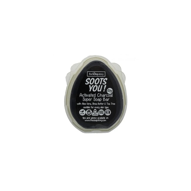 Soots You Ultimate Activated Charcoal Super Soap 100g - 0