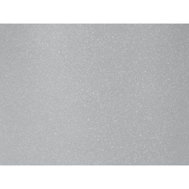 Lucca Modern Pot - Light Grey - Tall - 1