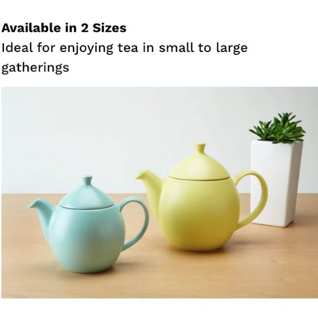 Forlife Dew Teapot - Natural Cotton (2 Sizes) - 2