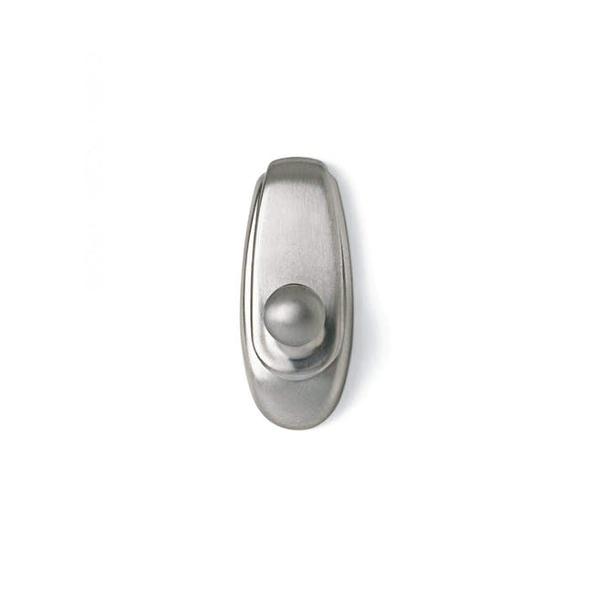 Command™ Timeless Hook - Brushed Nickel (2 Sizes) - 3