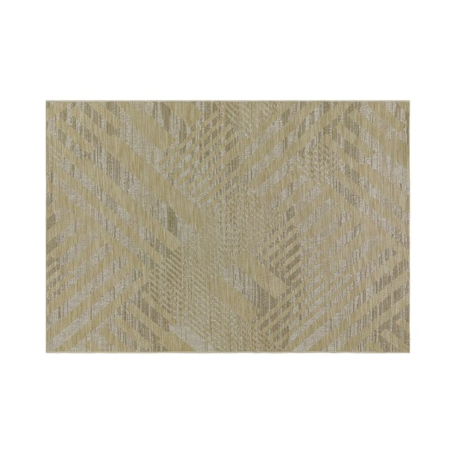 Mira Flatwoven Rug 2.9m x 2m  - Brown Lines - 0