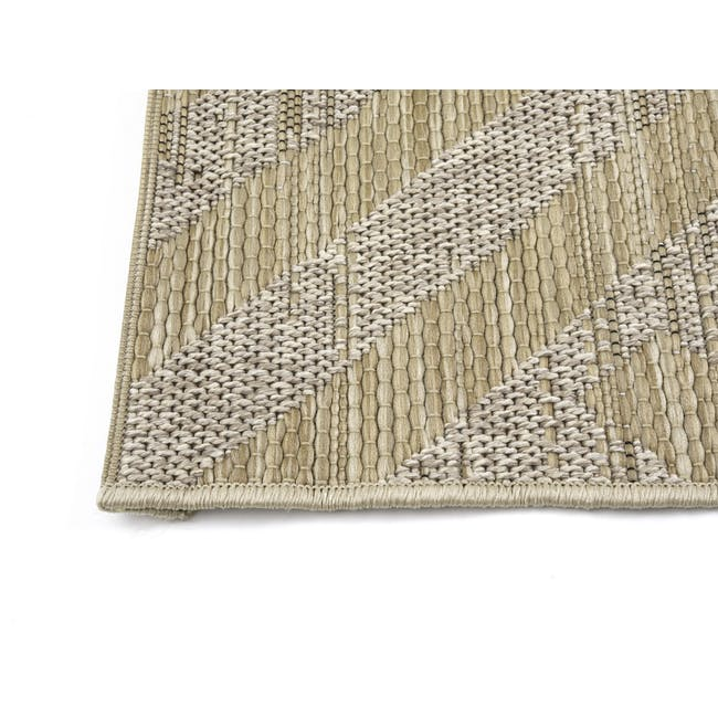 Mira Flatwoven Rug 2.9m x 2m  - Brown Lines - 2