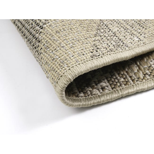 Mira Flatwoven Rug 2.9m x 2m  - Brown Lines - 4