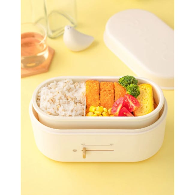 BRUNO Lunch Box Warmer - White - 2