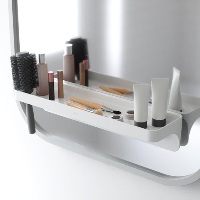 Flex Gel Lock Bathroom Shelf  - White - 5